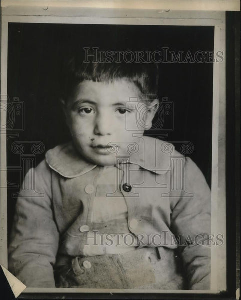 1926 Press Photo A Young Boy - Historic Images