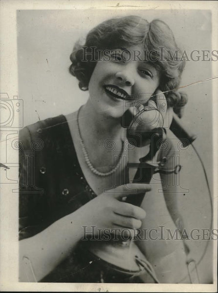 1930 Press Photo Mae Ayer, Actress - Historic Images