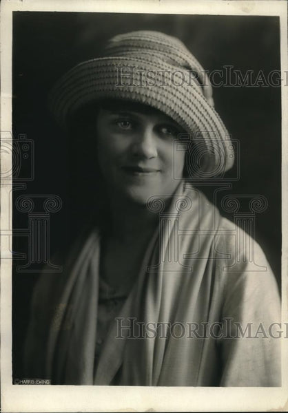 1921 Press Photo Eleanor Begg Daughter Of Rep & Mrs James Begg - Historic Images