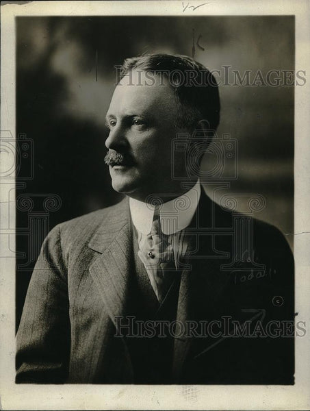 1918 Press Photo Jus J. Neal. - neb57090 - Historic Images