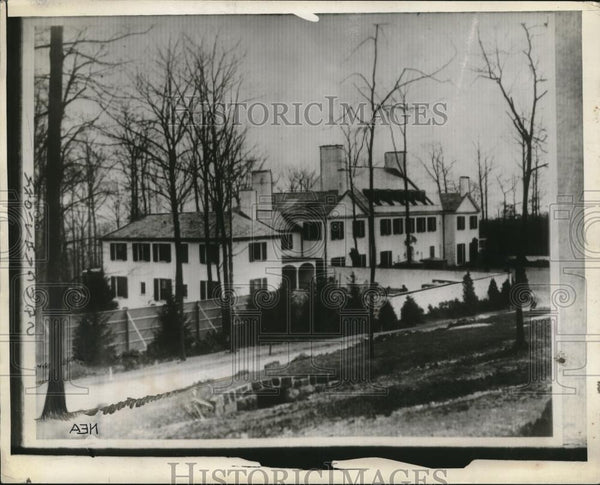 1929 Press Photo Dwight Marrow's Home in Englewood, New Jersey - neb65624 - Historic Images