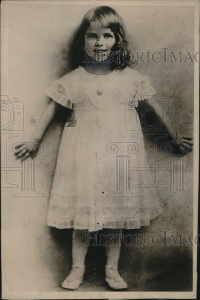 1919 Press Photo Princess Igrid Sweden Crown Child Royalty - neb61300 - Historic Images