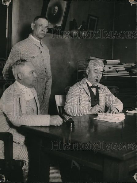 1920 Press Photo Kansas City, Ks mayorH Mendenhall, N Reichehmeker,O Elder - Historic Images