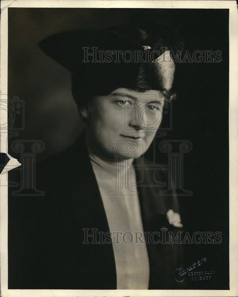 1920 Press Photo Mrs Jacob Bauer Chair Of Hospitality Committee - Historic Images