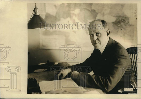 1922 Press Photo Col. William E. Naylor, First Aide to General Pershing - Historic Images