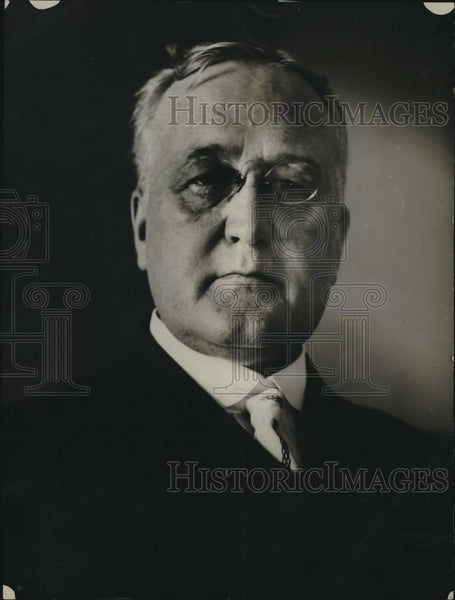 1922 Press Photo Judge Walter Warwick of Ohio, Asst. to Brig. Gen. H.M. Lord - Historic Images