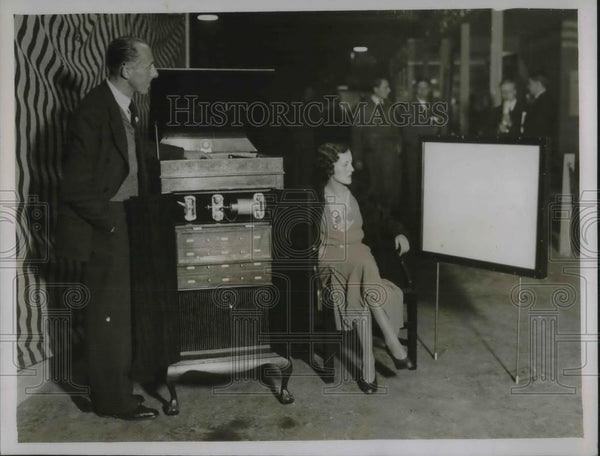 1931 Press Photo Radio exhibition at Olympia, London - Historic Images