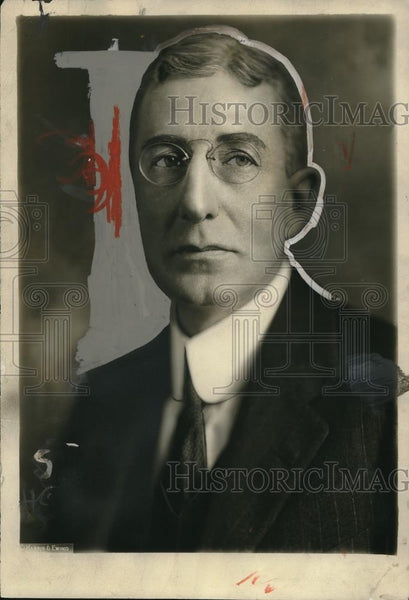1924 Press Photo Dr. Hugh S. Cumming, Surgeon General of Bureau of Public Health - Historic Images