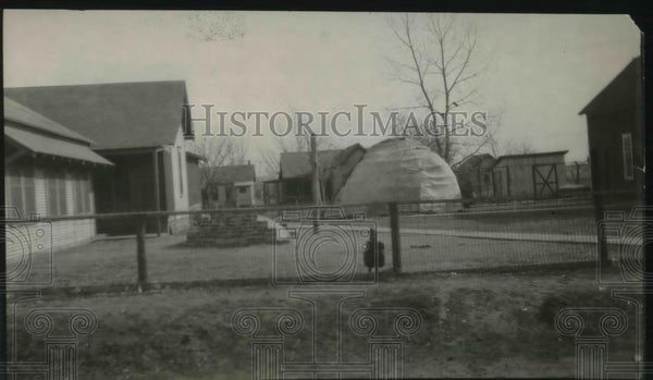 1926 Press Photo Indian Village, Pawhuska, Oklahoma - Historic Images