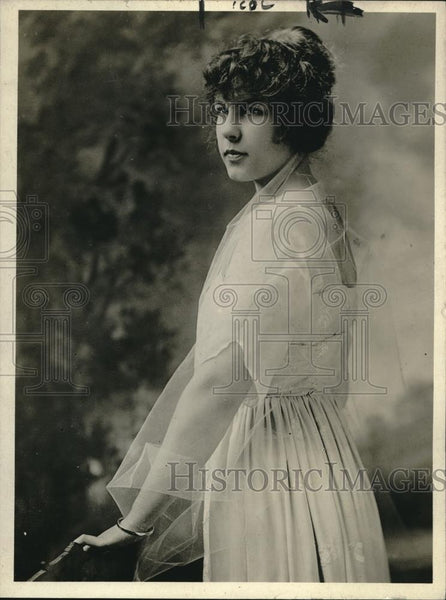 1918 Press Photo Miss Dorothea Denys, of Wash.D.C. society - Historic Images