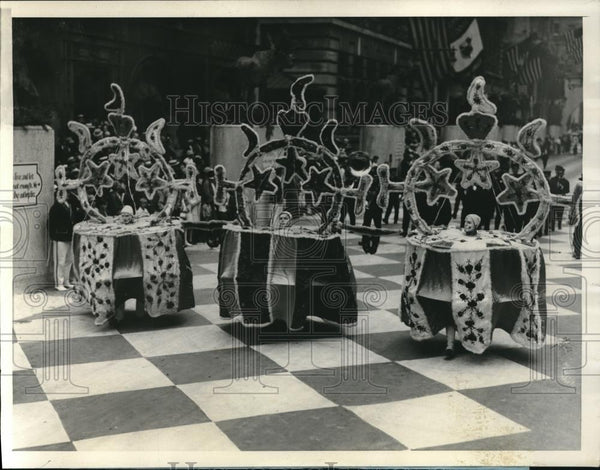 1922 Press Photo Order of the Moose Philadelphia Parade - Historic Images