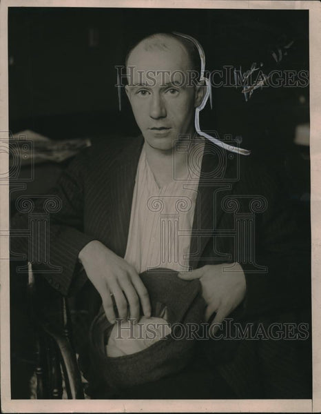 1921 Press Photo Mr Carl Mandrew who murdered his wife - Historic Images