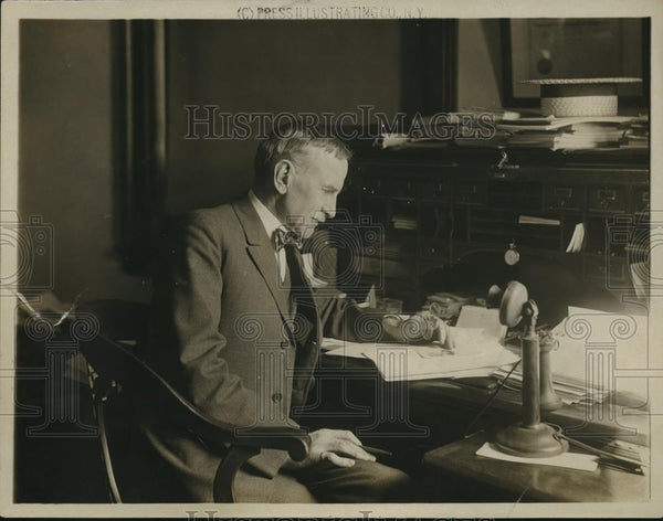 1918 Press Photo William G. Willcox, Re-Elected President Board of Education - Historic Images