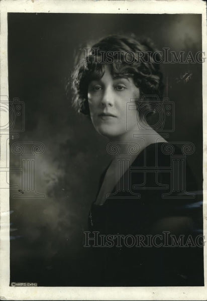 1921 Press Photo Mrs. Hernando de Soto, Prominent in Washington - Historic Images