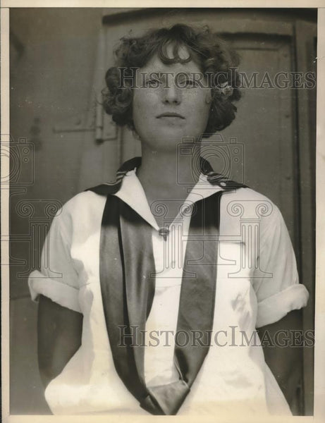 1930 Press Photo Mildred Meyer of Point Loma High School is May Queen - Historic Images