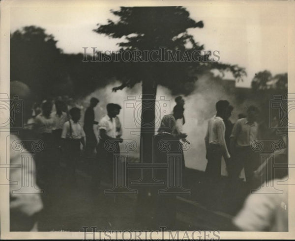 1931 Press Photo Barbuton Ohio Rioters - neb82136 - Historic Images
