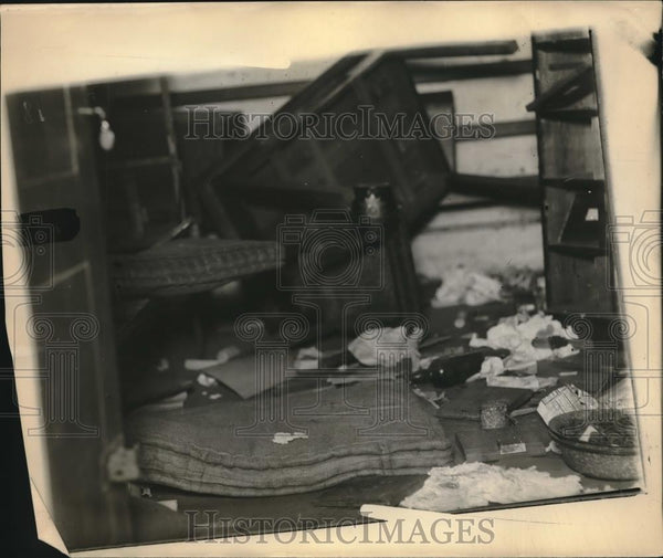 1923 Press Photo Ruhr area of France after German destroy it - Historic Images