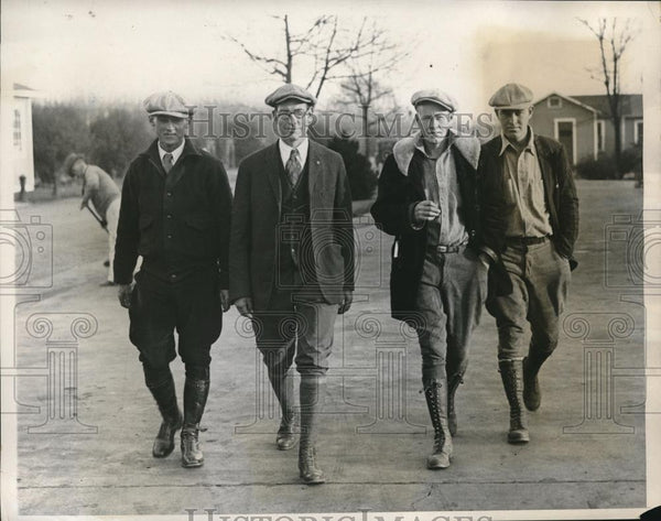 1932 Press Photo Farmers March In Protest In Washington DC - Historic Images