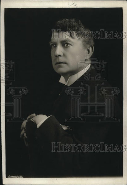 1920 Press Photo Mr Robert Mantell, actor died 6/27/1928 - neb85858 - Historic Images