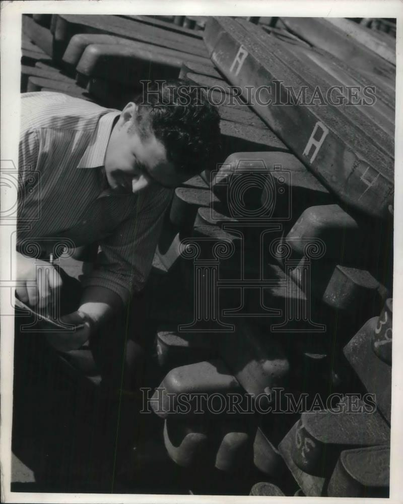 1941 Press Photo Westinghouse Company's Reclamation Division at Linhart
