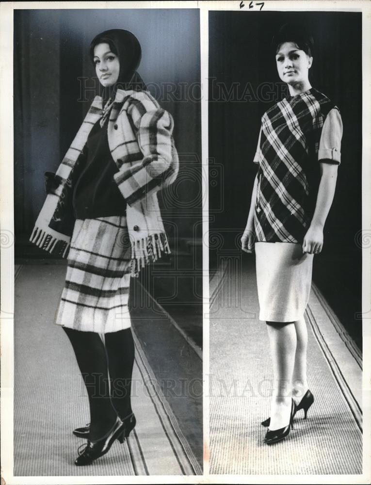 1964 Press Photo Moscow Russia Designers Vintage Fashion - Historic Images