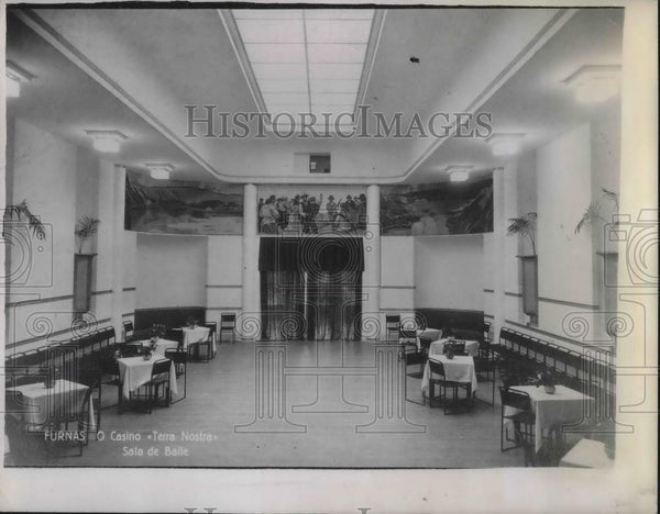 1941 Press Photo Casino San Miguel Islands - Historic Images