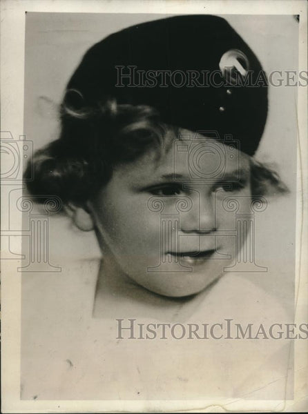 1931 Press Photo Henrietta Horthy Scotch Bonnet - neb93267 - Historic Images