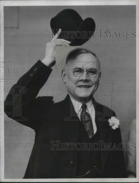 1934 Press Photo William Green, Pres., American Federation of Labor - Historic Images