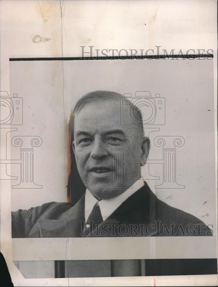 1940 Press Photo Mackenzie King, Prime Minister, Canada - nec07288 - Historic Images