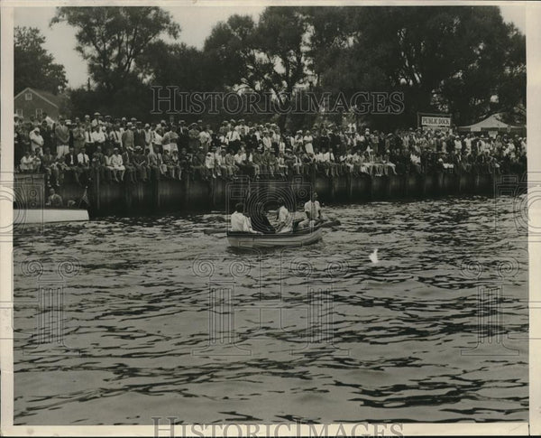 1930 Press Photo Speed boat race at Shrewsbury River - Historic Images