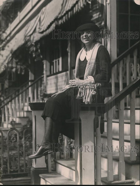1921 Press Photo Miss G. Cheatham, daughter of Capt. and Mrs. J. J. Cheatham - Historic Images