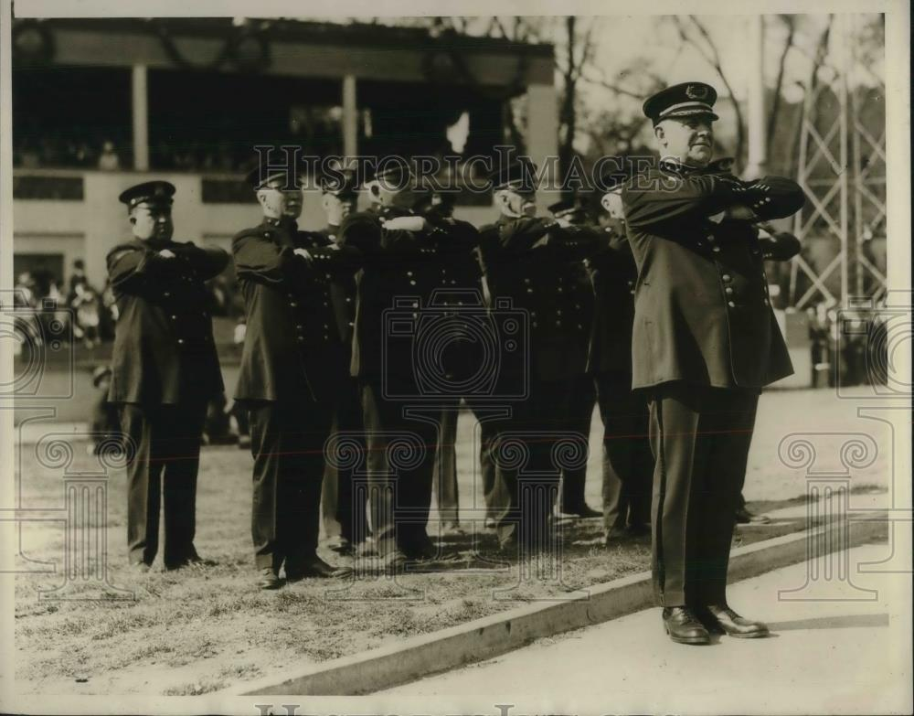 1930 Press Photo Boston Police Superintendent Michael H. Crowley - nec05935 - Historic Images
