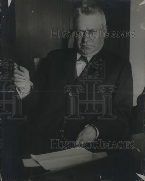 1914 Press Photo Matt Sullivan New Chief Justice - nec38168 - Historic Images