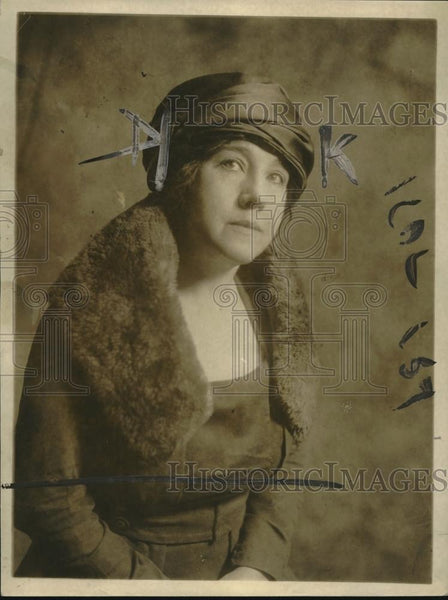 1920 Press Photo Miss Eleanor Waldo Sued By M Brown - nec31793 - Historic Images
