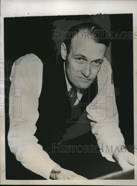 1935 Press Photo Henry Ambrose describes Alcatraz Island after prison release - Historic Images