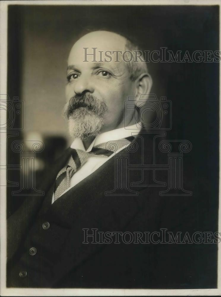 1918 Press Photo David Blumenthal, Mayor of Colmar - nec36124 - Historic Images