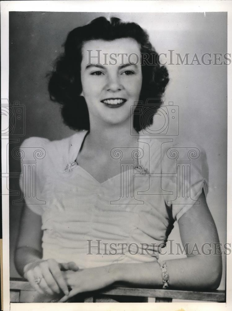 1941 Press Photo Jean Wagoner To Preside Over MacMurray College May Day Event - Historic Images