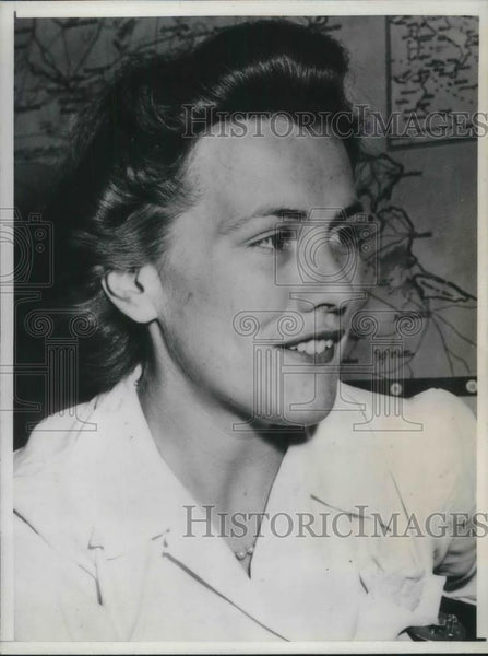 1943 Press Photo margaret Glassford appointed as Minister to French East Africa - Historic Images