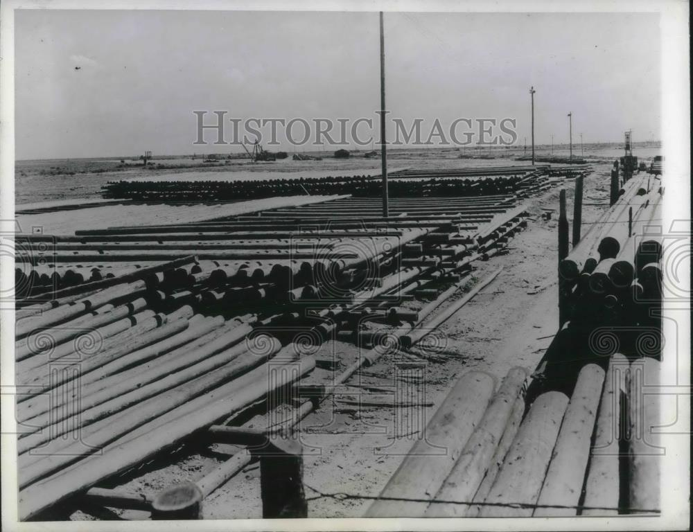 1942 Press Photo New Orleans shipbuilder contract cancelled - nec45067 - Historic Images