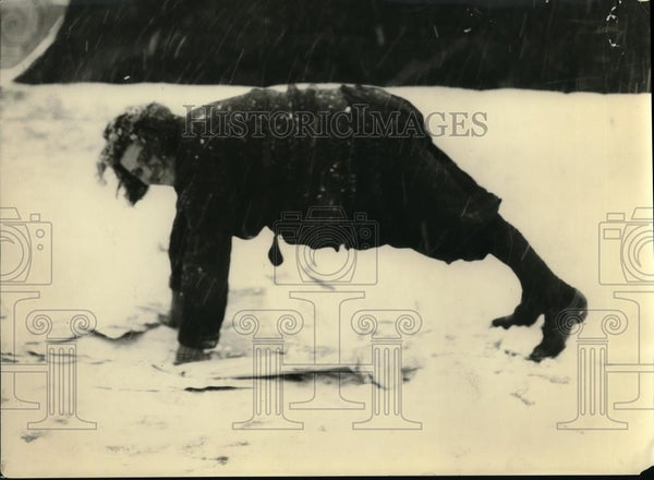 "1922 Press Photo Etta Heine of ""Snow Falling on Cedars"" - Historic Images"