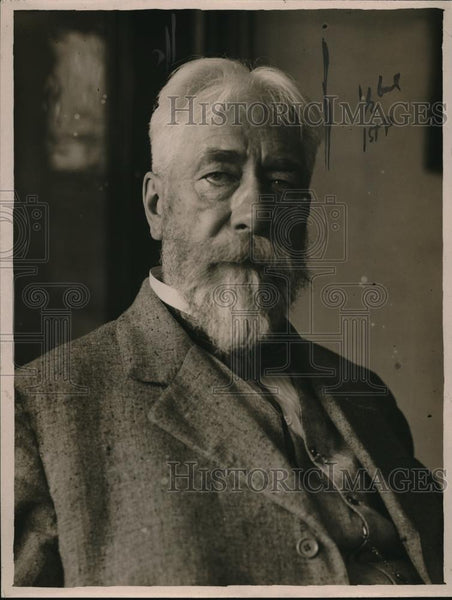 1921 Press Photo Gustav Lwidenth, distinguished men - nec47431 - Historic Images
