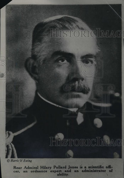 1921 Press Photo Rear Admiral Hilary Pollard Jones - Historic Images