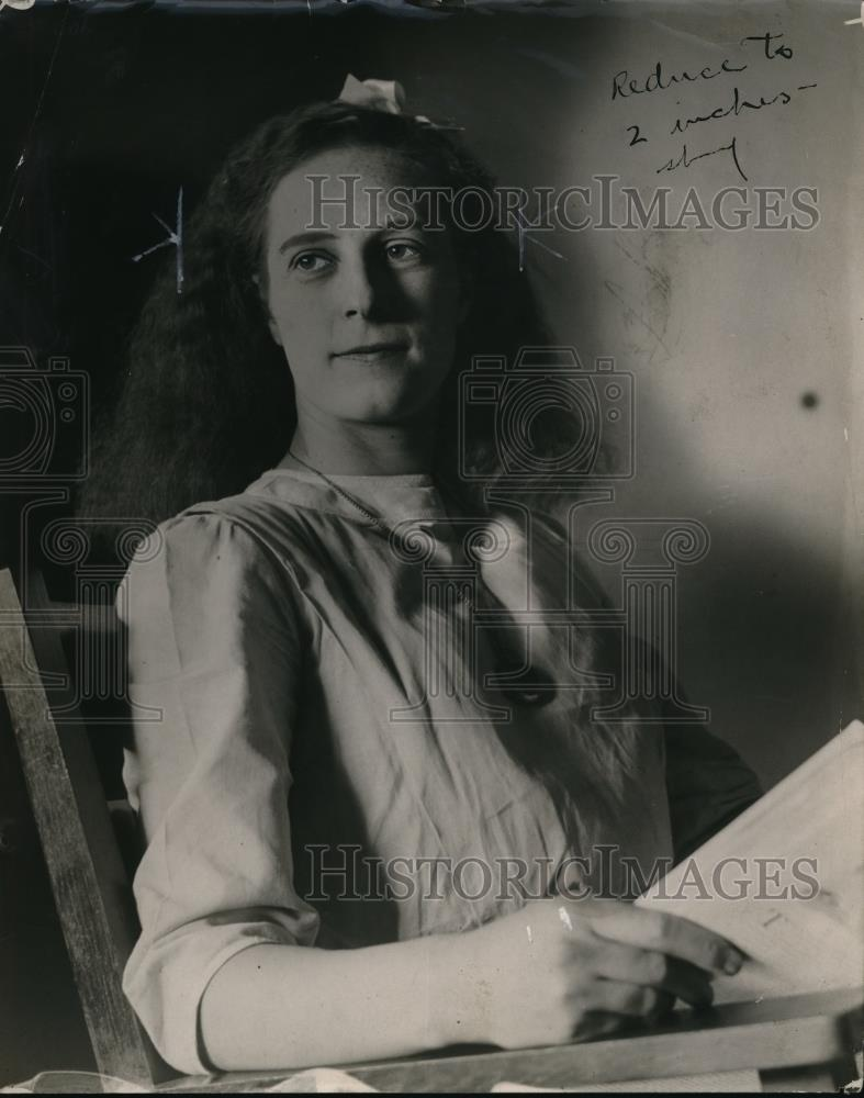 1912 Press Photo Ethel Hall queen of Smuglers - Historic Images