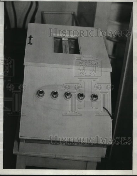 1933 Press Photo Baby Incubator - Historic Images