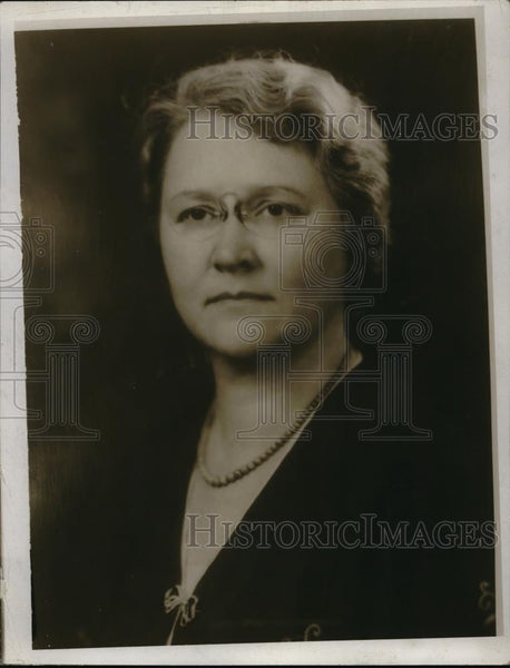 1924 Press Photo Mrs Robert H Jamison Member Of Womens City Club - Historic Images