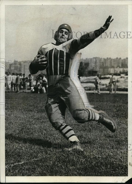 1931 Press Photo Running Back Cliff Montgomery At First Practice - nes15884 - Historic Images