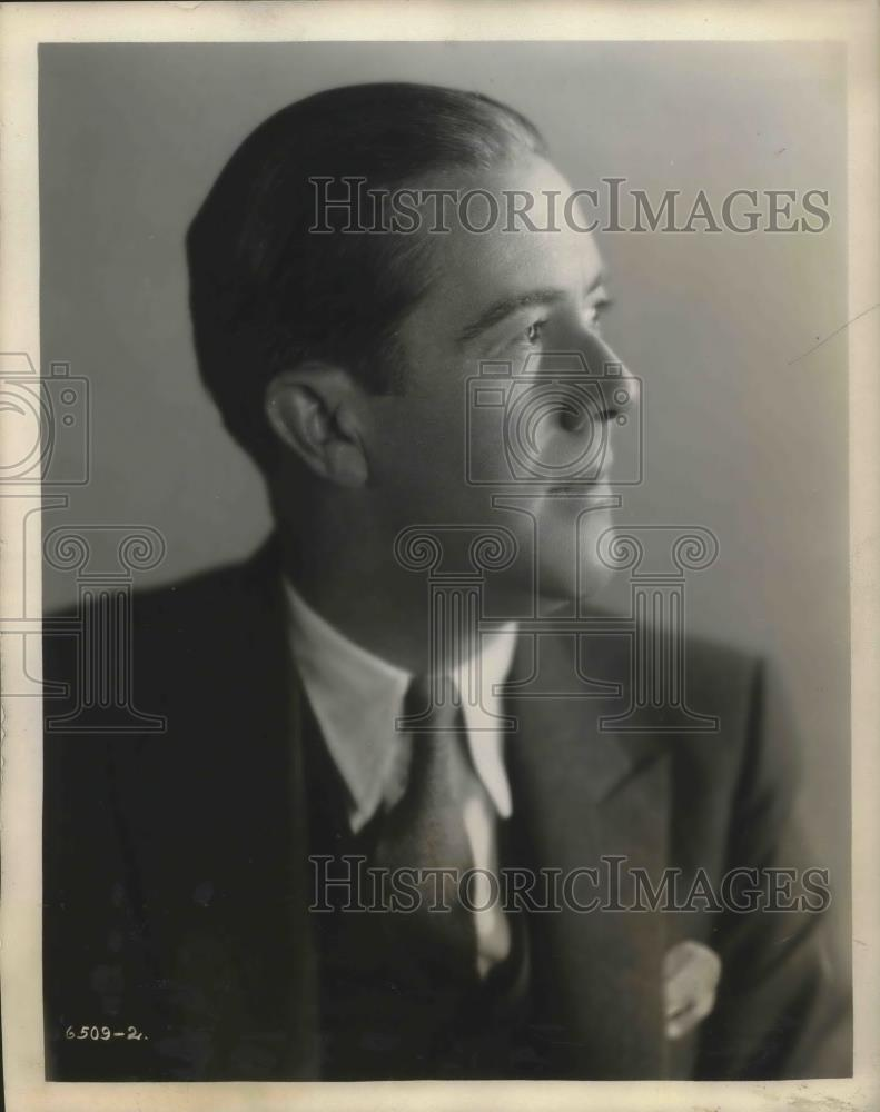 1929 Press Photo William Shelley Interlocutor of Dutch Masters Minstrela - Historic Images