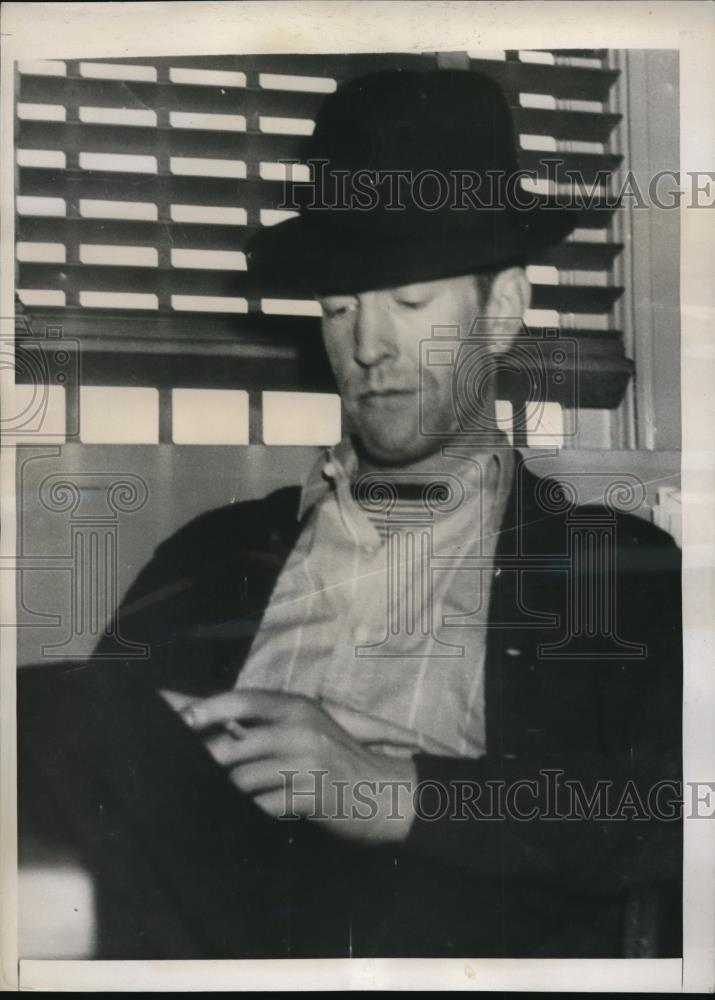 1939 Press Photo Leonard is in jail for extortion against Mayor Langlie - Historic Images