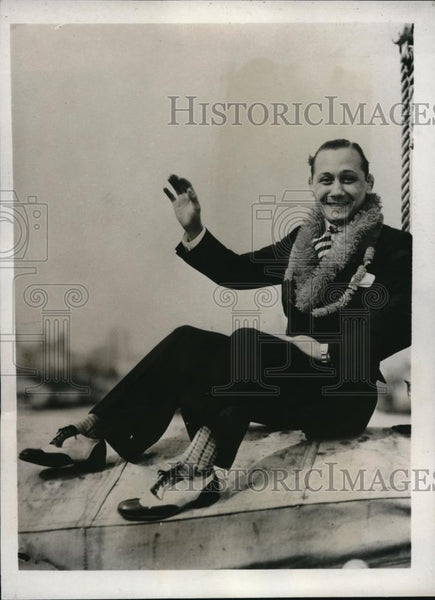 1932 Press Photo Boxer Midget Wolgast flyweight champ of the world - nes19923 - Historic Images