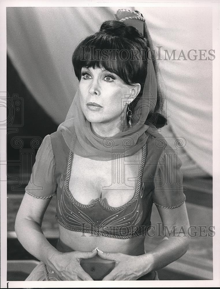 1991 Press Photo Barbara Eden in I Still Dream of Jeannie - Historic Images